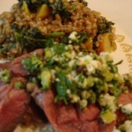 "Lamb with Pistachio, Feta, & Preserved Lemon ""Salsa"" by Vanessa Barrington – Food Author"