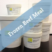 SF Raw Frozen Beef Meal