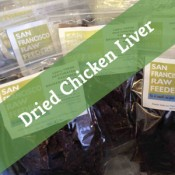 SF Raw Dehydrated Chicken Liver