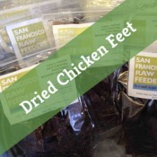 SF Raw Dehydrated Chicken Feet