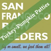 SF Raw Turkey & Pumpkin Patties